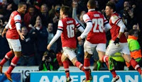 Hasil Pertandingan Arsenal vs Norwich City Tadi malam 13 April 2013