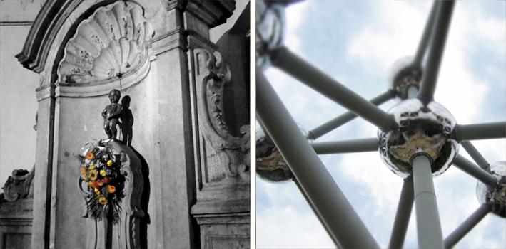 Bruxelles - Manneken Pis et Atomium - http://spicerabbits.blogspot.fr/