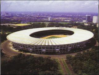 Stadion Gelora Bung Karno (GBK) jakarta.(INDONESIA)