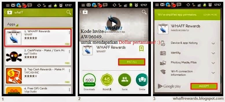 Cara mendapatkan Uang dengan mudah lewat Android