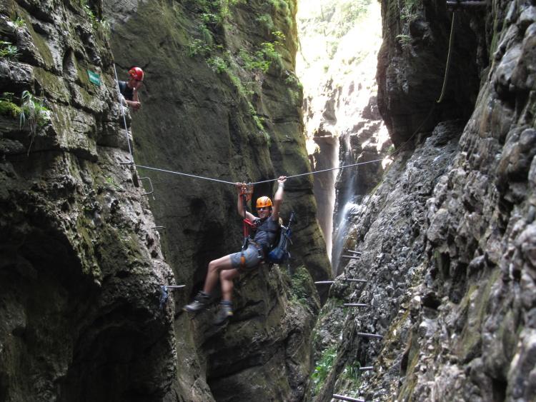 Klettersteig Postalmklamm : Nejlepší ferraty: postalmklamm klettersteig u2013 obtížnost d f