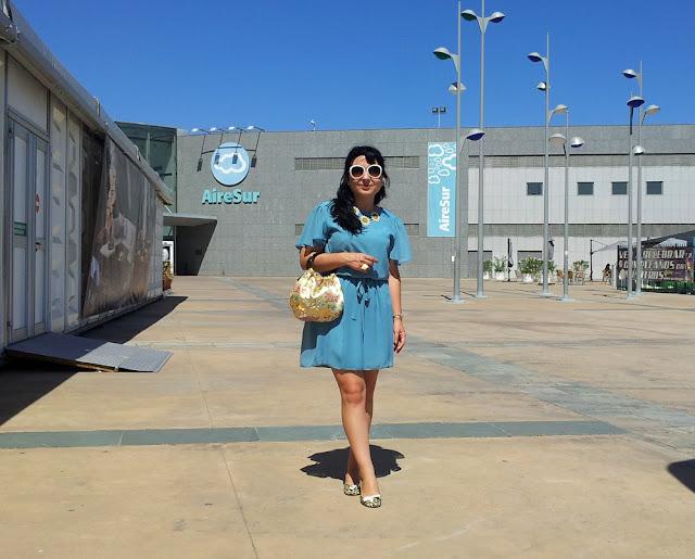 vestido+azul+primark
