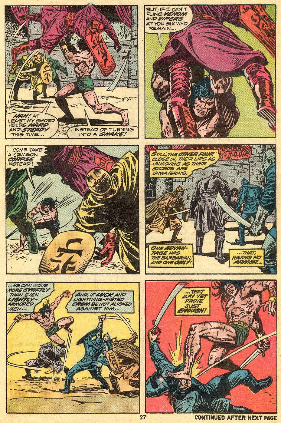 Conan the Barbarian (1970) Issue #33 #45 - English 16