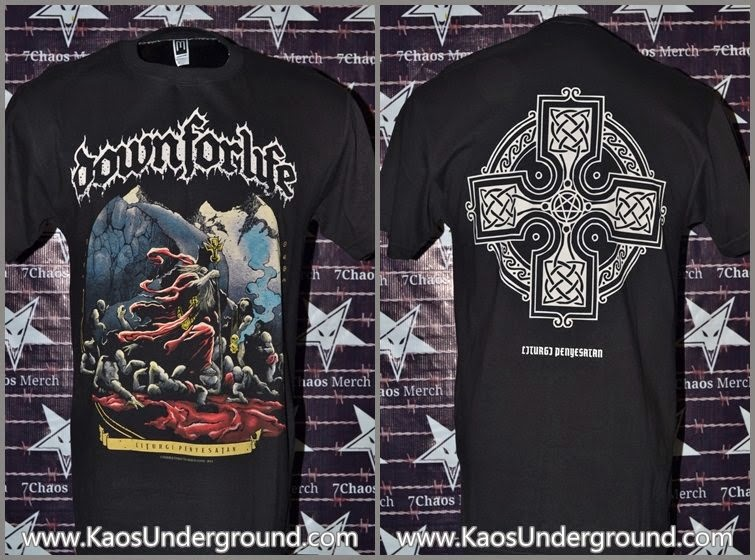band down for life solo kaosunderground.com SevenChaosMerch Merch Cons