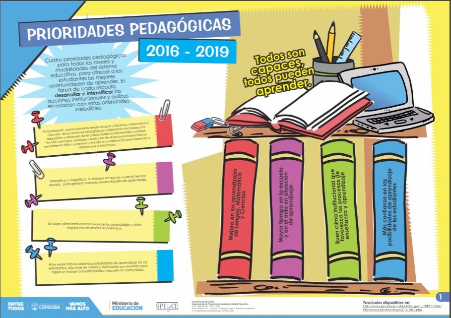 Prioridades Pedagógicas 2016-2019