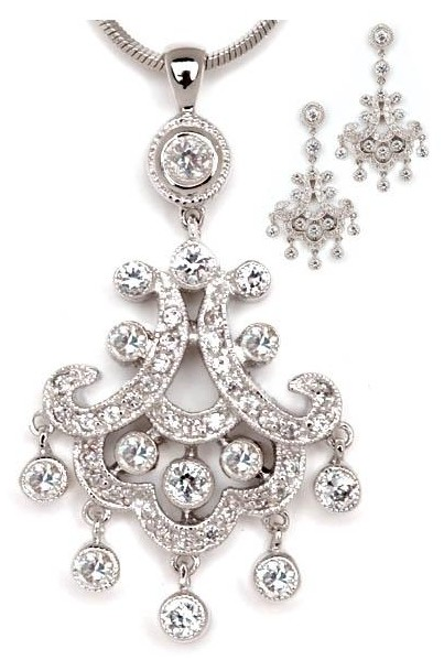 cheap bridal jewelry sets