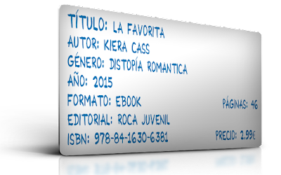 http://www.amazon.es/favorita-Historias-Selecci%C3%B3n-Kiera-Cass-ebook/dp/B014RTLKQW/ref=sr_1_16?ie=UTF8&qid=1445198711&sr=8-16&keywords=kiera+cass