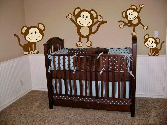 Creative wall painting ideas for baby nursery for Baby boy mural ideas