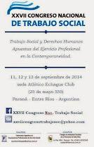 Congreso Nacional de Trabajo Social - Paraná 2014