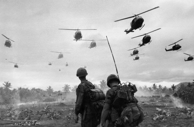 Bataillon d'hélicoptere Huey vietnam war guerre viet nam art sound us army