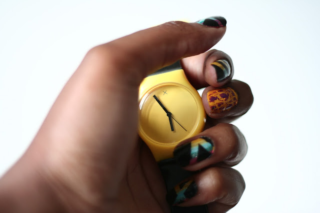 DIY Nail Art & MYWATCHY