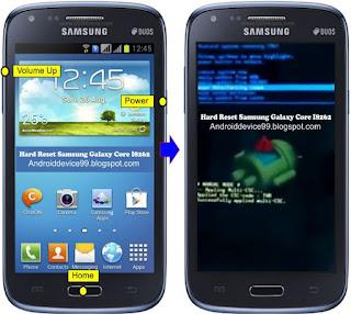 Cara Reset Samsung Galaxy Core I8262