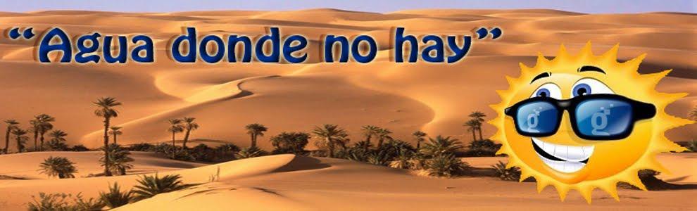 Agua Donde No Hay
