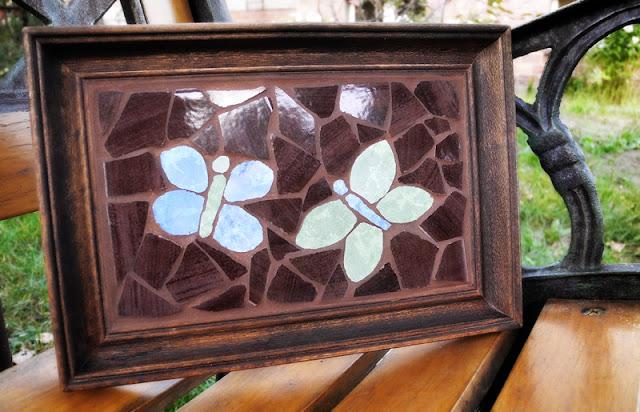 mozaikowe motyle