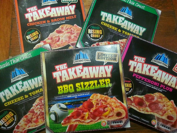 Chicago Town Take Away Pizza Range Review