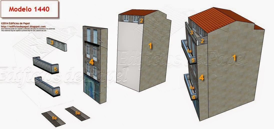 Modelo 1440 Edificio Centro Burgas