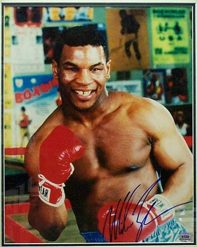 MIKE TYSON  (1966-Present)  HEAVYWEIGHT BOXER