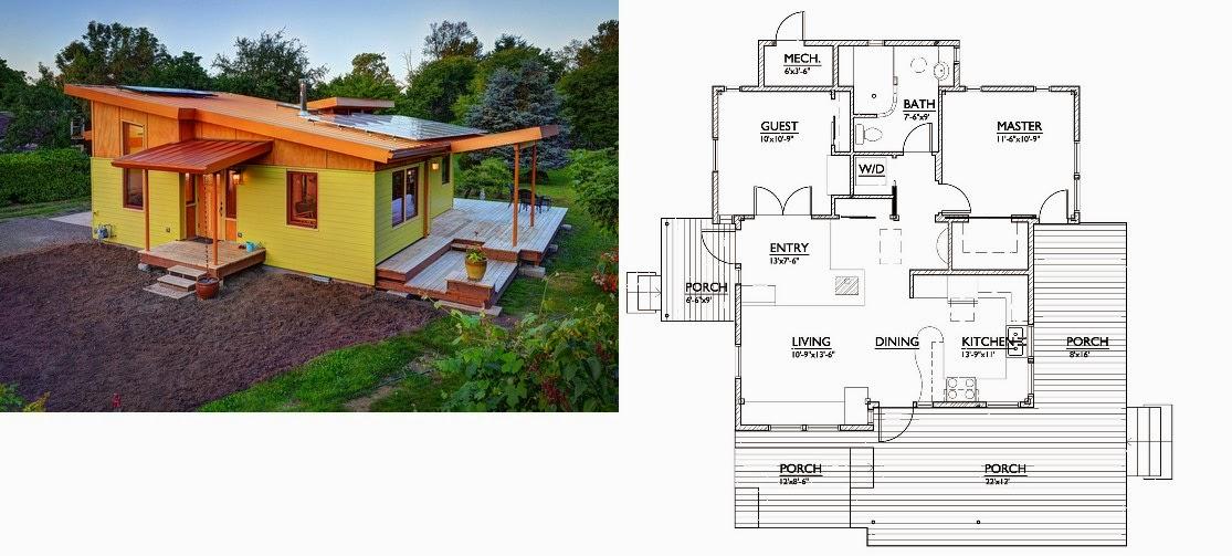 Planos de casas modernas for Banos de casas modernas