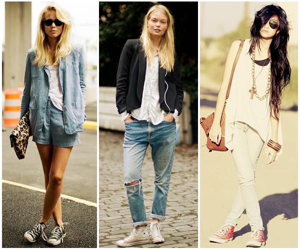 jeans e converse alte