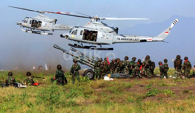 Latihan Gabungan 2013 Tunjukkan TNI Miliki Efek Getar