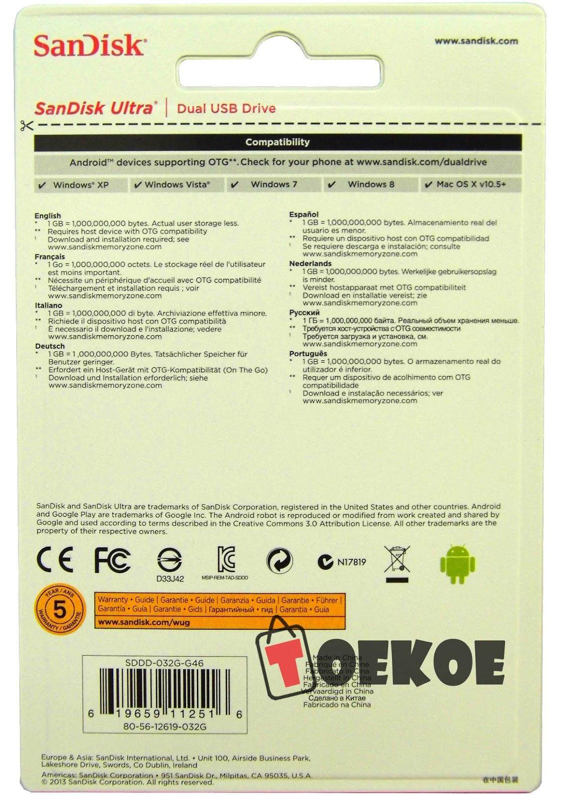 Toekoe Surabaya Flashdisk Otg Sandisk Ultra Dual Usb Drive 16 Gb Flasdisk 16gb Garansi Resmi Dari Astrindo Selama 5 Tahun Sesuai Yang Tertera Dibelakang Kemasan