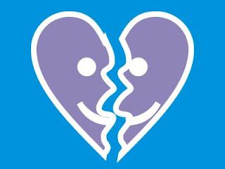 Emoticon de Coração Partido (desenho)