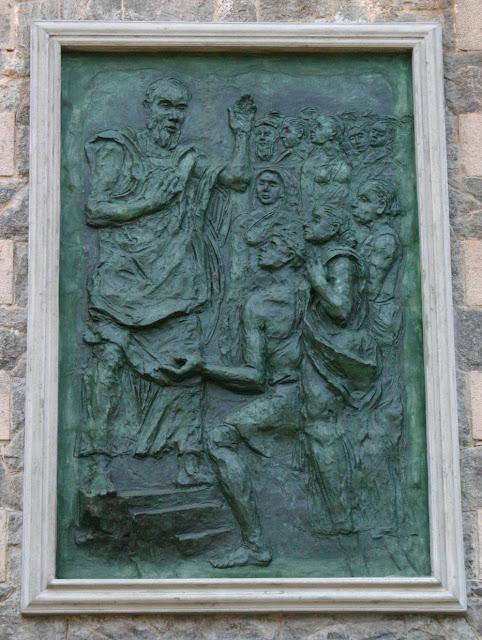 Bronze Relief of Prof. Chandrajeewa
