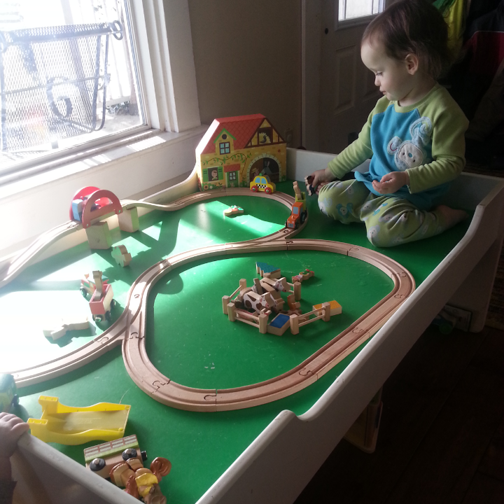 Janod Story Express Farm Train Set | Momma\'s Thoughts
