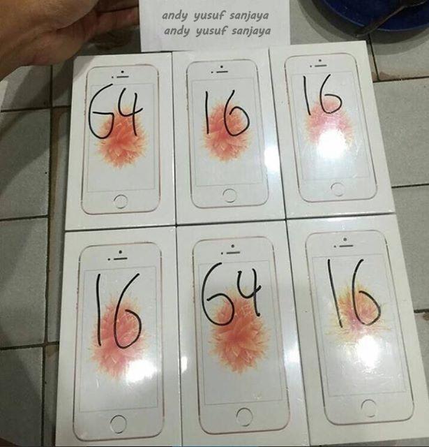 Stok Iphone Se