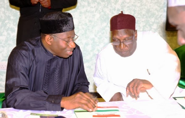 Goodluck Jonathan and Tukur