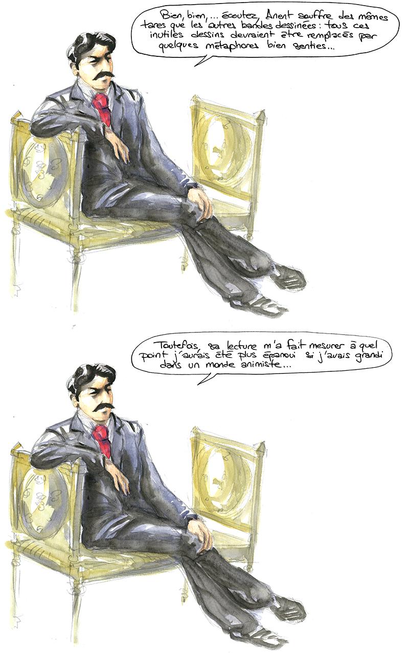 Proust, métaphores bande dessinée