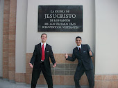 Me and My son, Elder Garcia