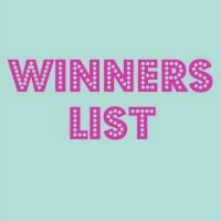 January Winners List