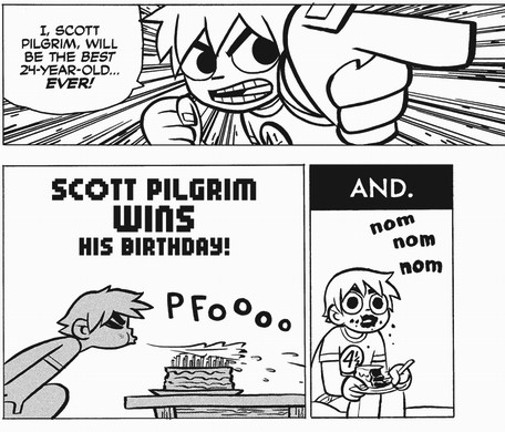 scott pilgrim wins