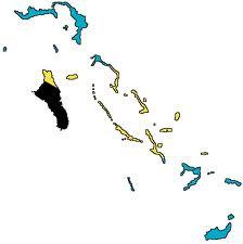 Bahamas-Flag map