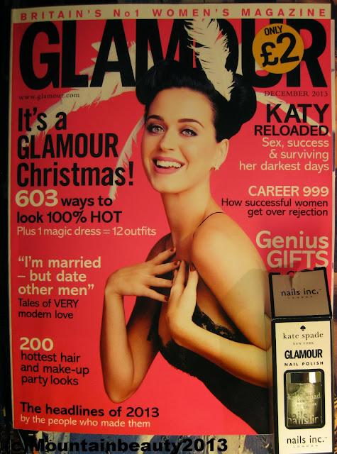 Glamour Magazine Kate Spade Nails Inc Soho Siler