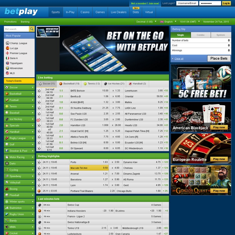 Betplay Offers