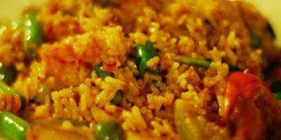 receta de arroz primavera