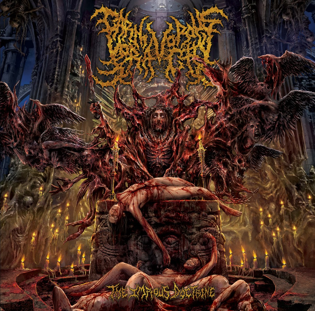 Carnivorous Voracity - The Impious Doctrine (2015)