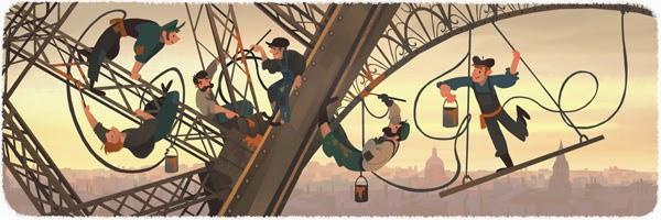 Kỷ Niệm 126 Năm Ngày Khánh Thành Tháp Eiffel