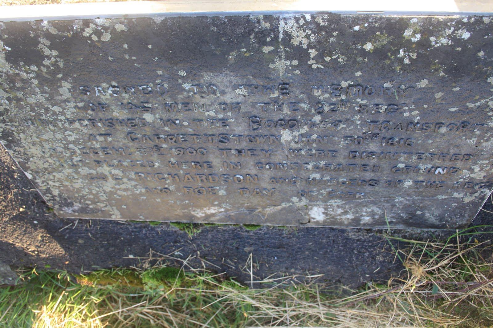 Boadicea Headstone Oldcourt