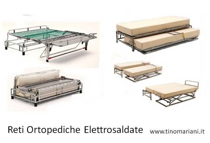I divani letto rete elettrosaldata o rete a doghe tino for Divano letto rete elettrosaldata