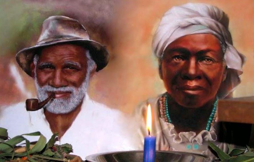 Resultado de imagem para pretos velhos