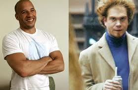 Vin Diesel And His Twin Brother http://twinswithtots.blogspot.com/2011/10/did-you-know-these-celebrities-had-twin.html