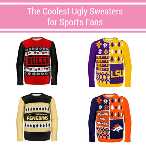 Ugly sweaters for sports fans