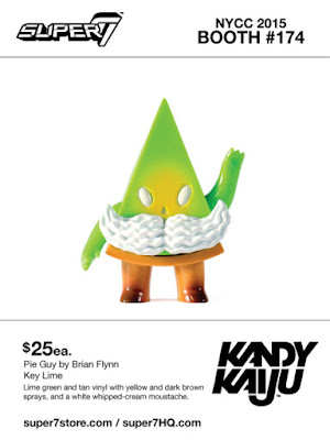 "New York Comic Con 2015 Exclusive Kandy Kaiju ""Key Lime"" Pie Guy Vinyl Figure by Super7 & Brian Flynn"