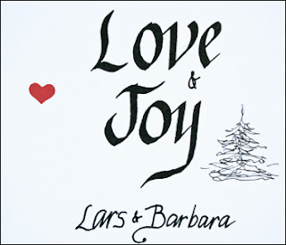 Barbara's holiday card