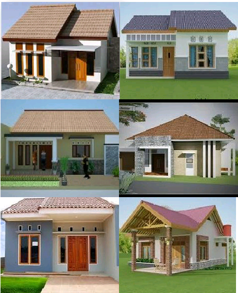 contoh design rumah sederhana