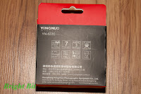YongNuo YN-622C box, back view