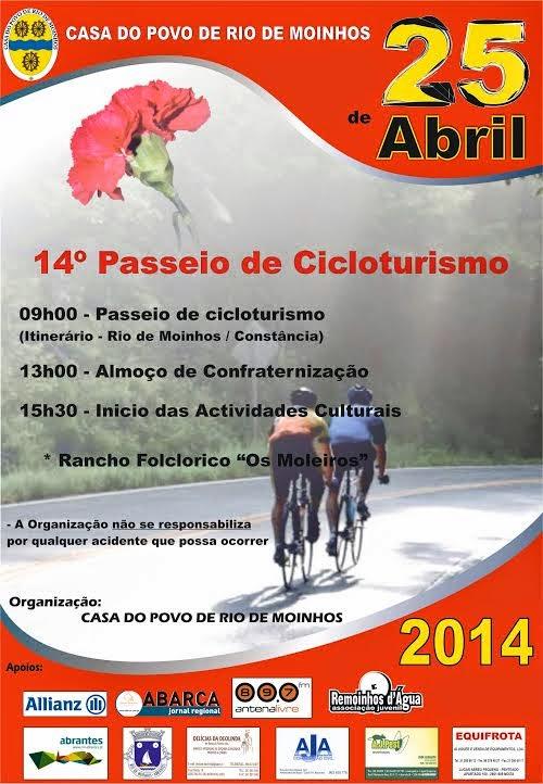 14º Passeio de Cicloturismo 2014